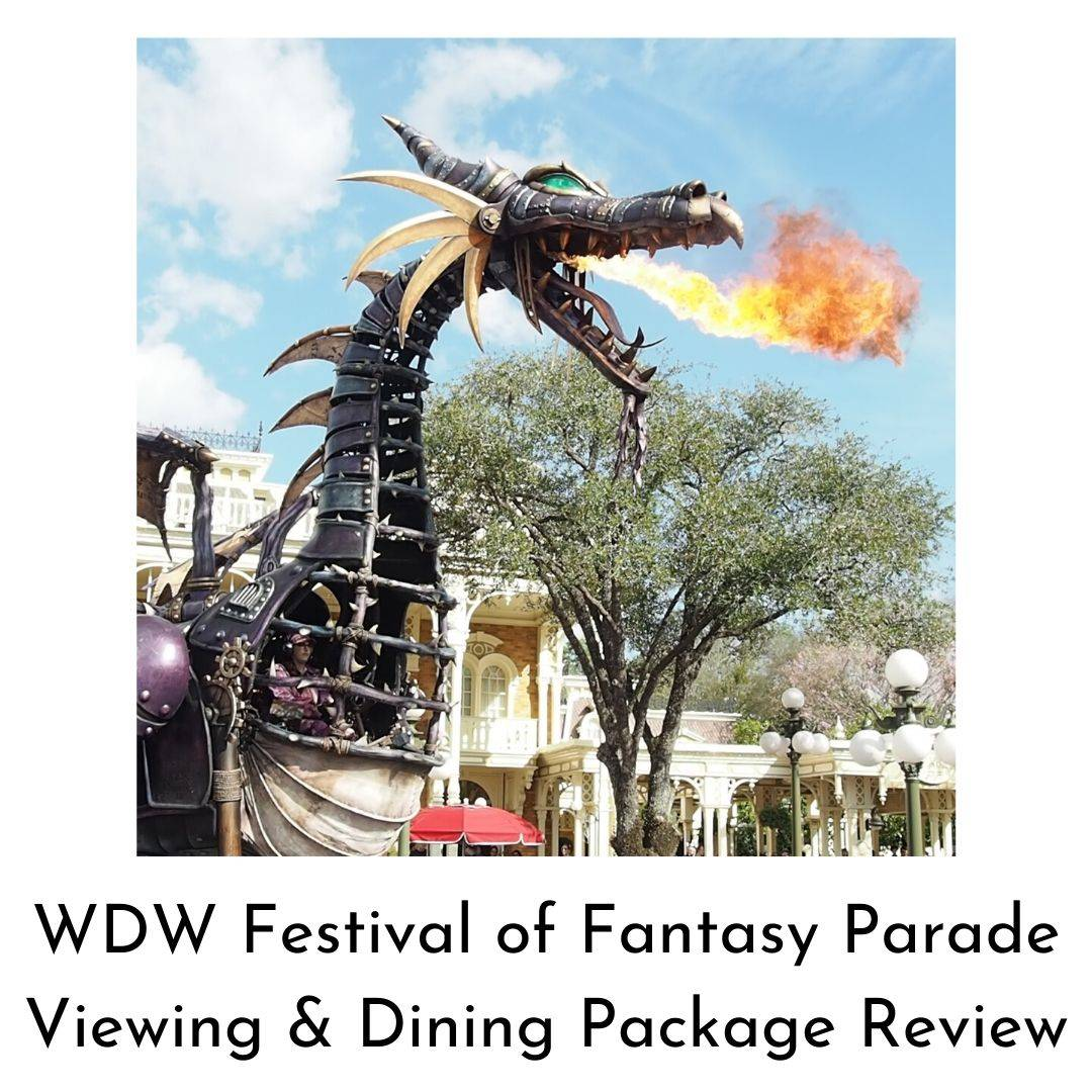 Festival of Fantasy Dining Package Review