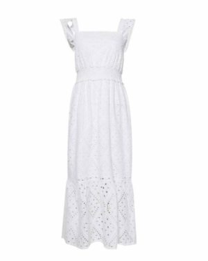 Dorothy Perkins White Long Dress