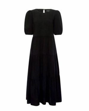 Dorothy Perkins Black Smock Dress