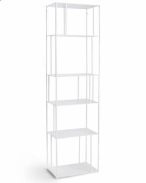 White Book Shelving Unit