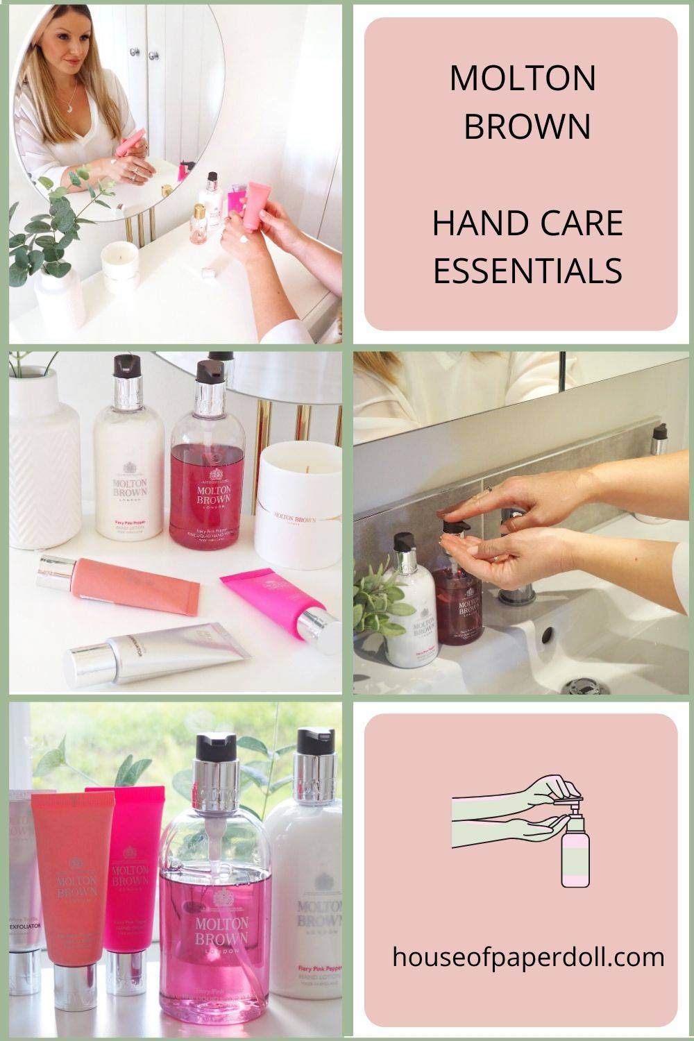 Molton Brown Hand Care Essentials