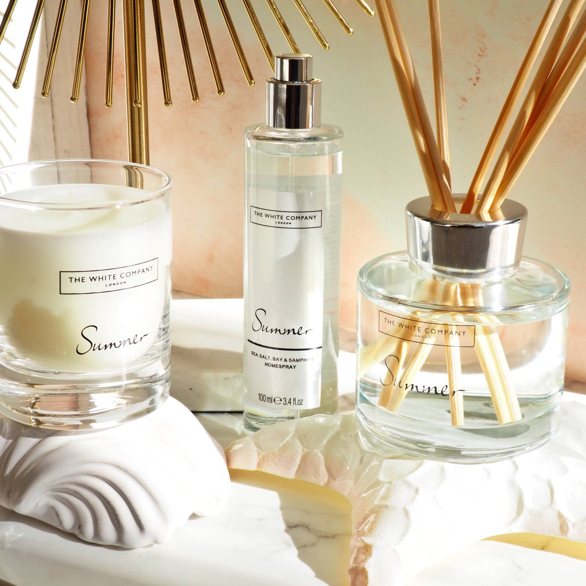 The White Company Summer Fragrance Collection