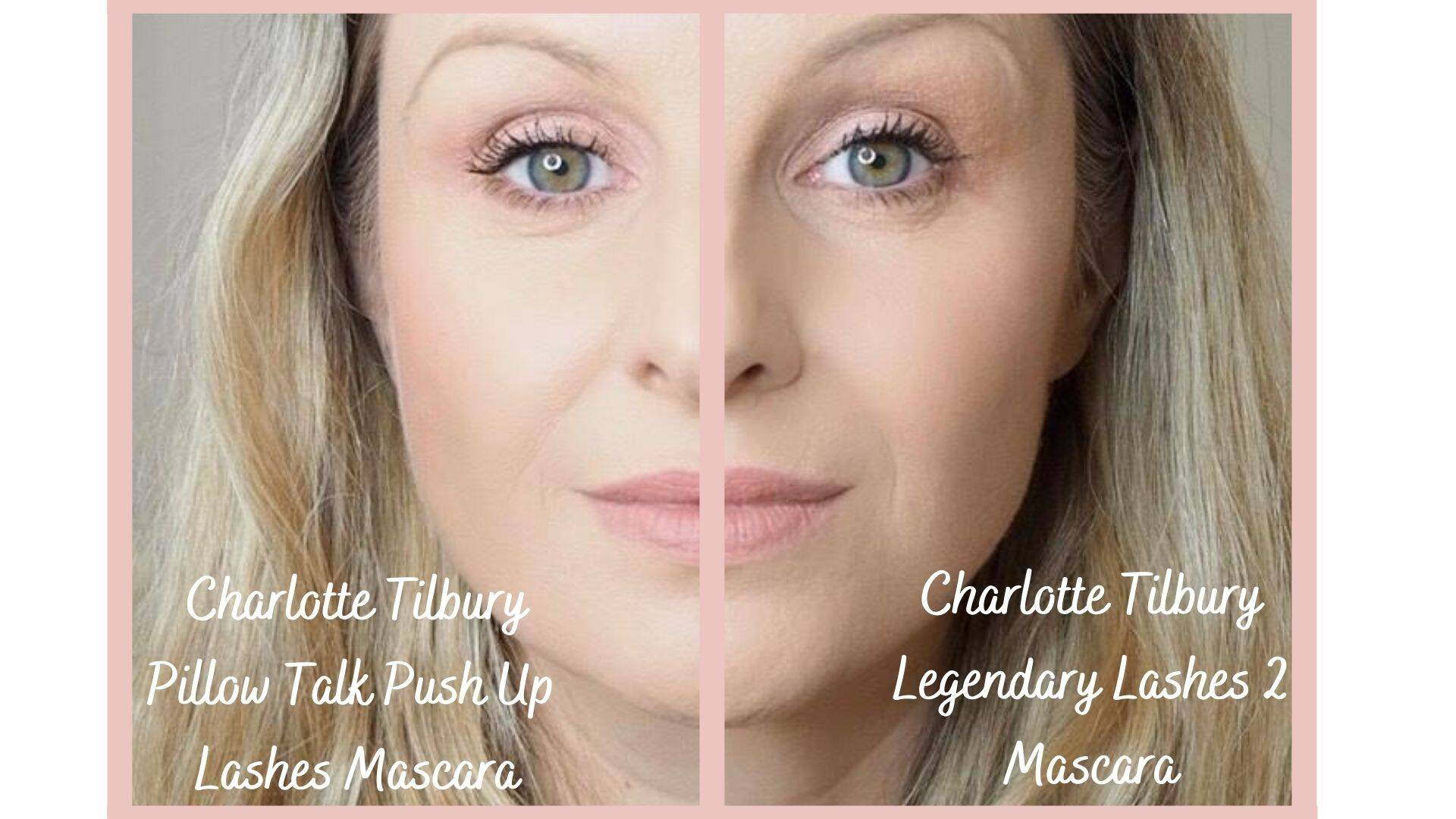 Charlotte Tilbury Pillow Talk Push Up Lashes Mascara vs Legendary Lashes 2 Mascara