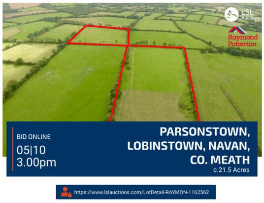 Raymond Potterton - Parsonstown, Lobinstown, Navan, Co. Meath