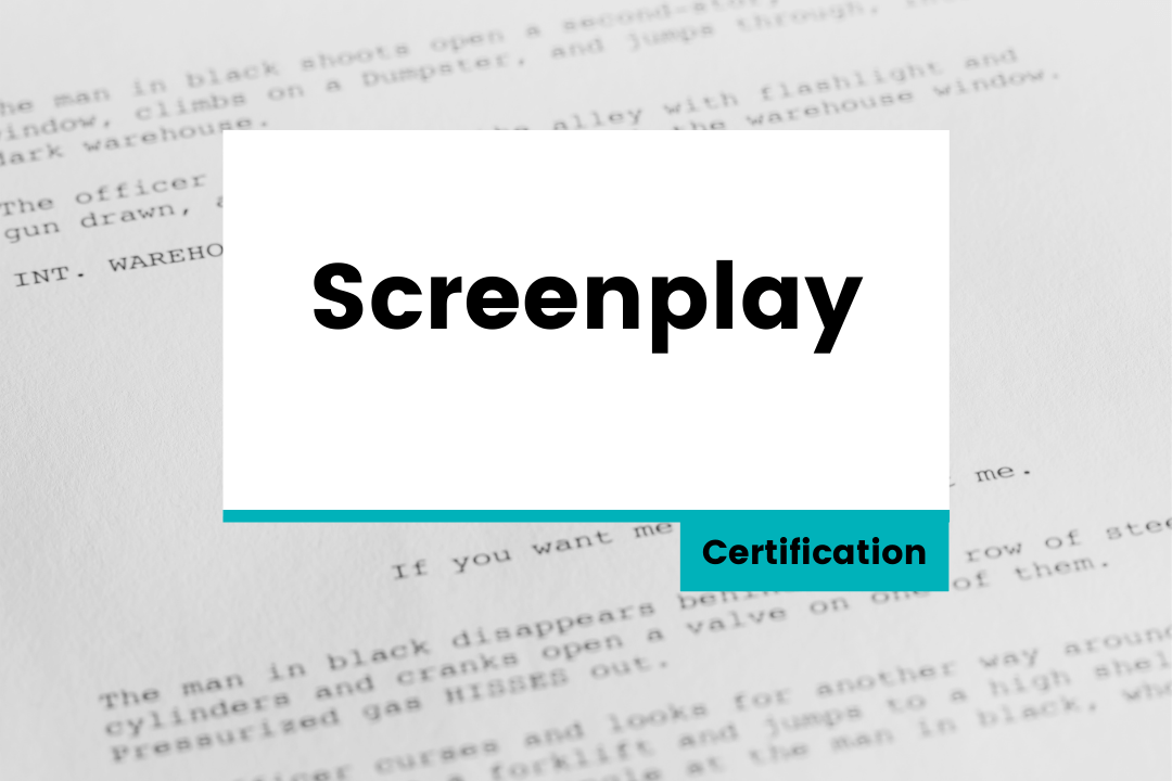 Screenplay – Certification