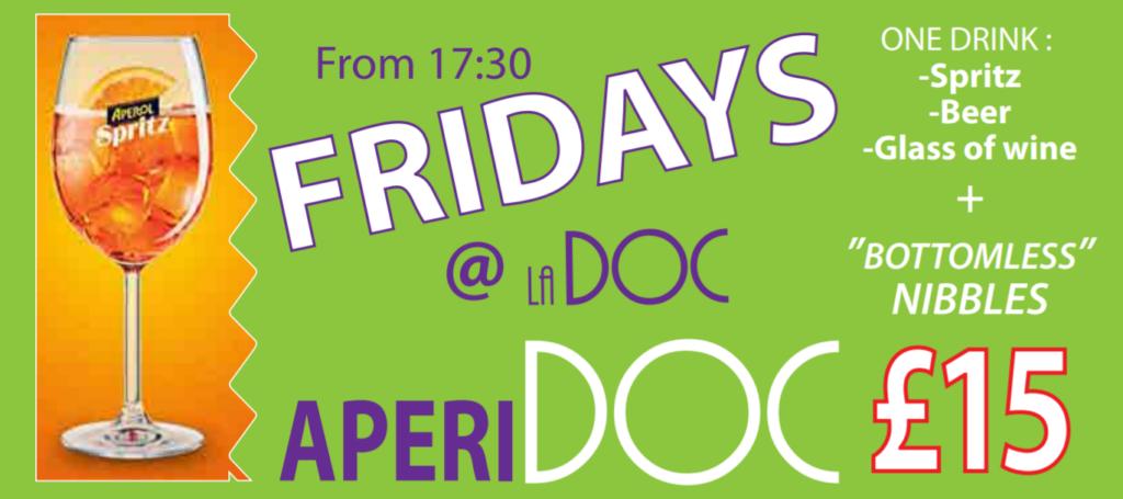 Fridays at la Doc