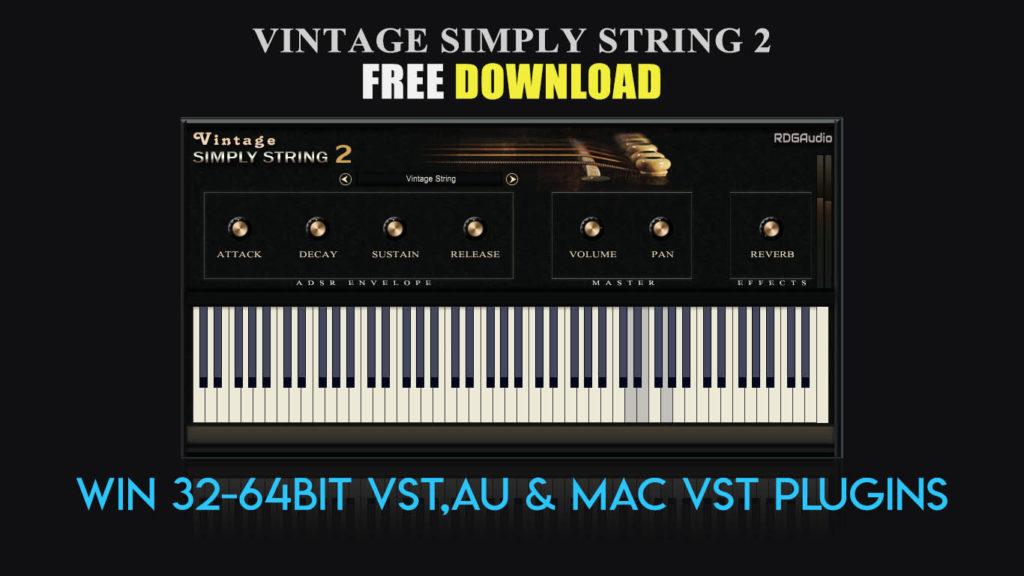 Vintage Simply String 2 RDGAudio Free Download