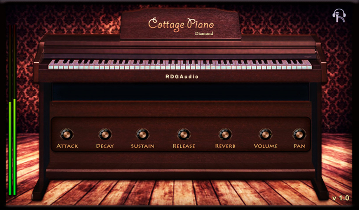 Cottage Piano Diamond RDGAudio