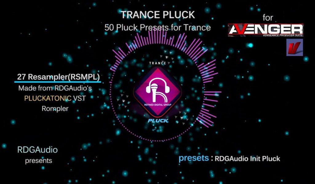 Vengeance Avenger Trance Pluck RDGAudio HD