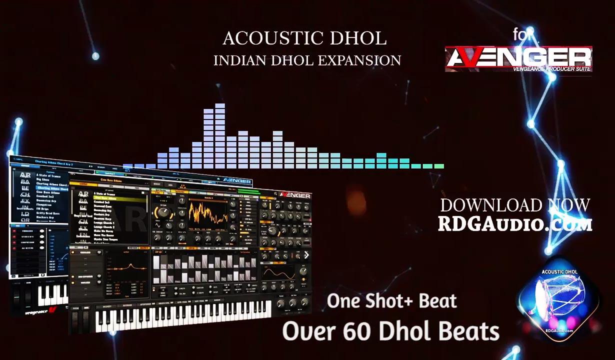 VPS Avenegra Acoustic Dhol Expansion 60 presets RDGAudio