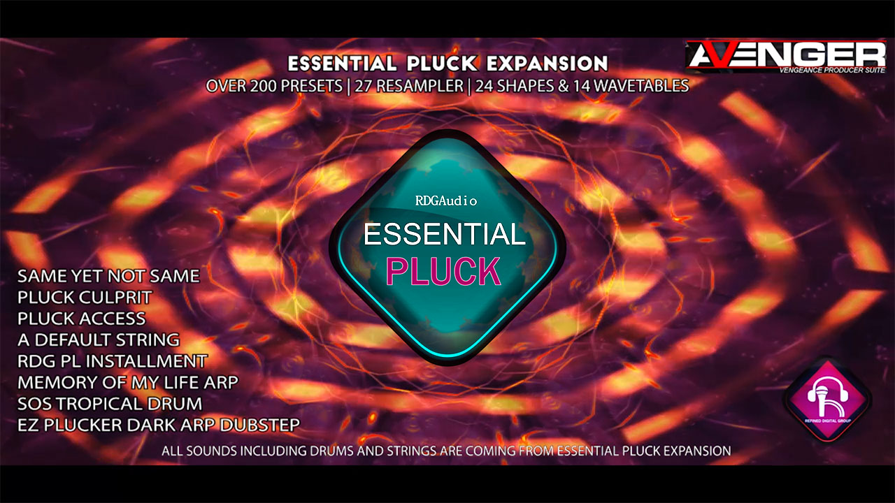 Essential Pluck RDGAudio VPS Avenger Expansion 1