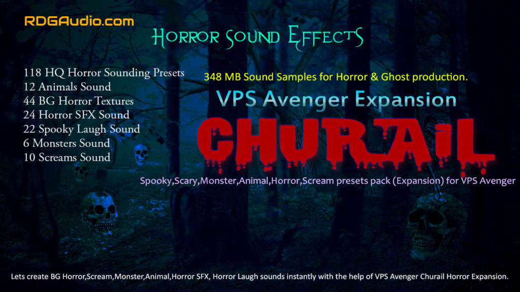 Churail Horror VPS Avenegr Expansion RDGAudio