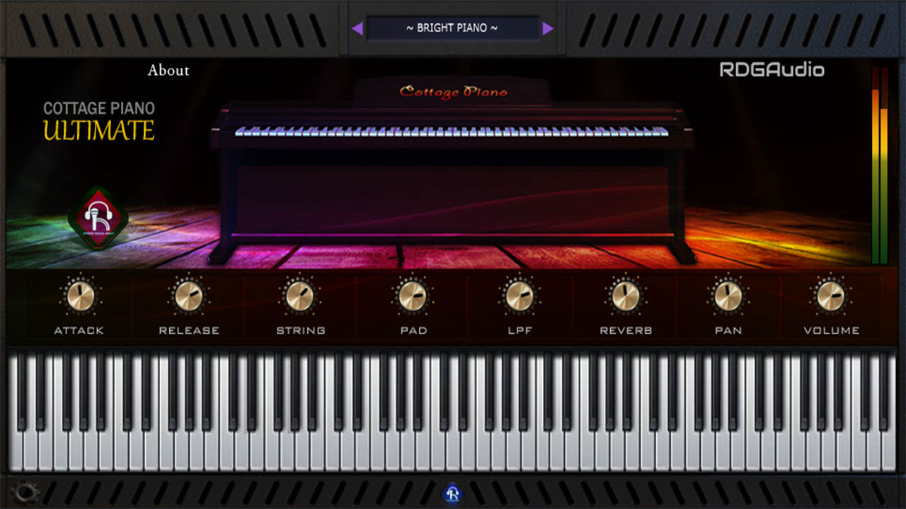 RDGAudio Cottage Piano Ultimate