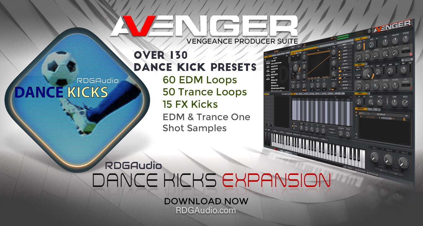 VPS Avenger Dance Kicks Expansion RDGAudio