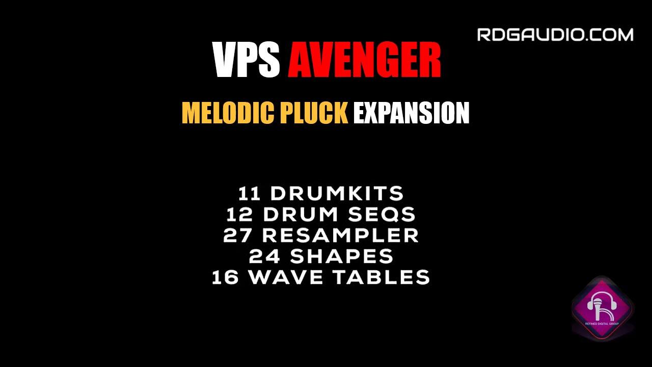 DrumKits Melodic Pluck VPS Avenger