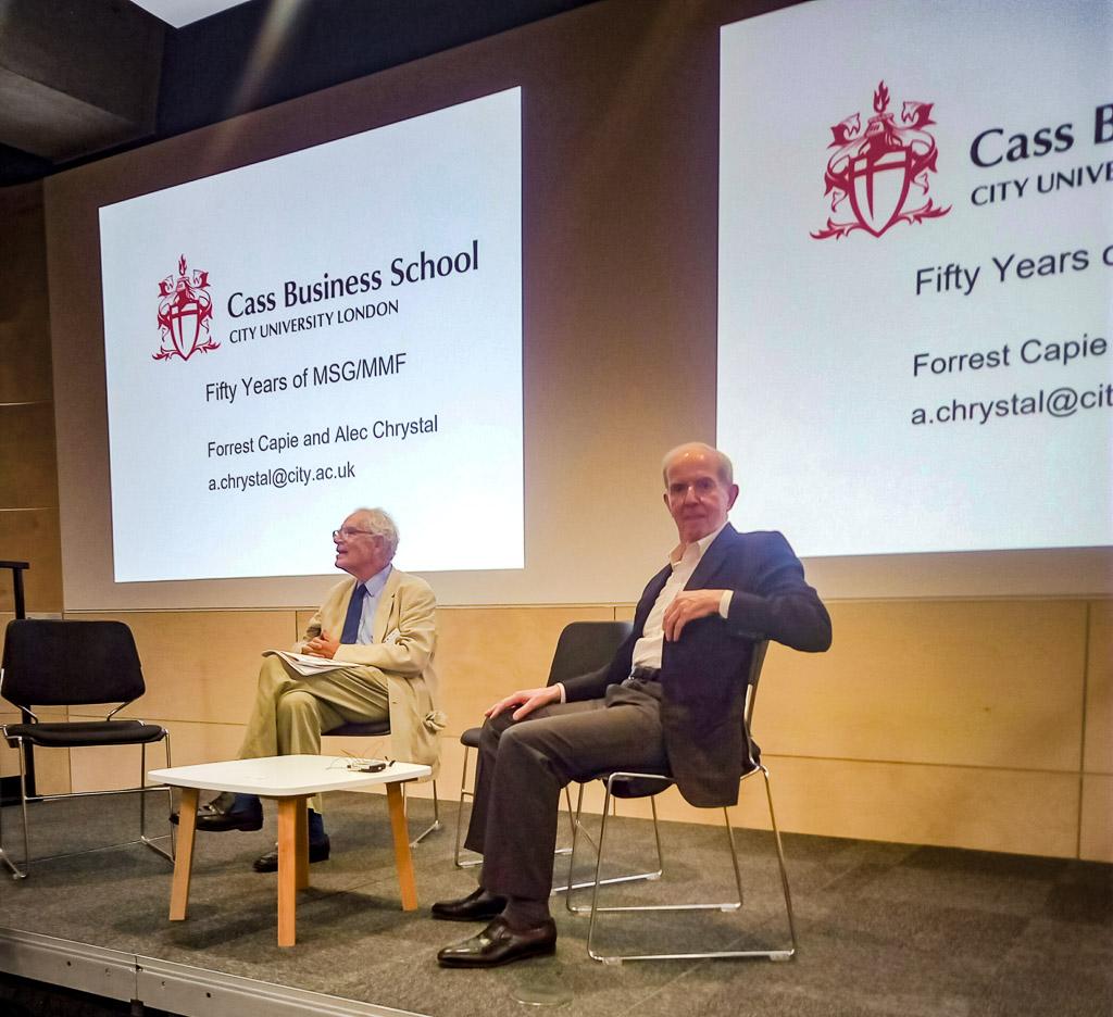 Charles Goodhart (LSE) and Michael Parkin (UWO)