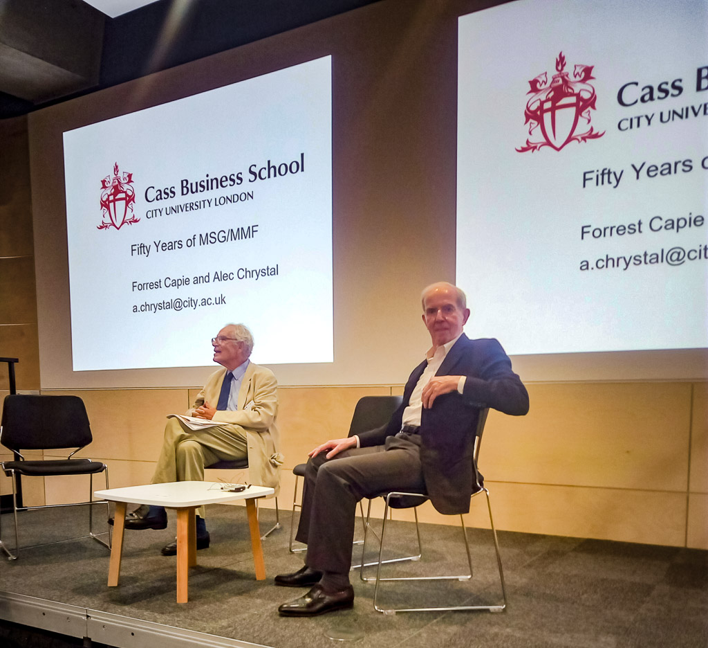 Charles Goodhart (LSE) and Michael Parkin (UWO)