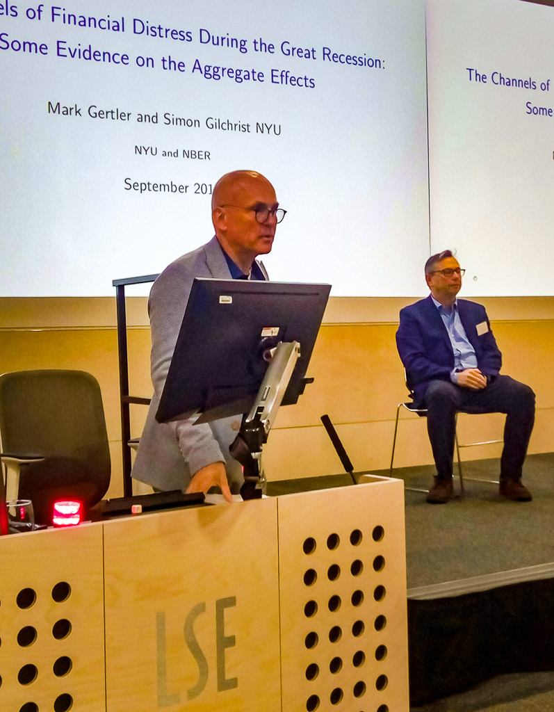 Mark Gertler (NYU) and Wouter den Haan (LSE)
