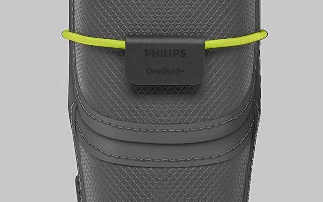 Freelance designer Eefje Sandmann shaver pouch design for Philips OneBlade