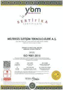Milteksis ISO 9001:2015