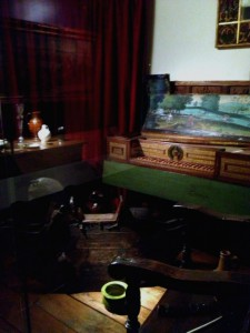 17th century room set