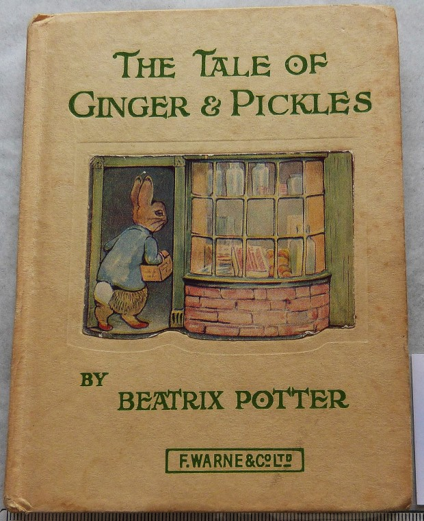 The Tale of Ginger & Pickles by Beatrix Potter