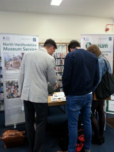 The Heritage event at Hitchin Library