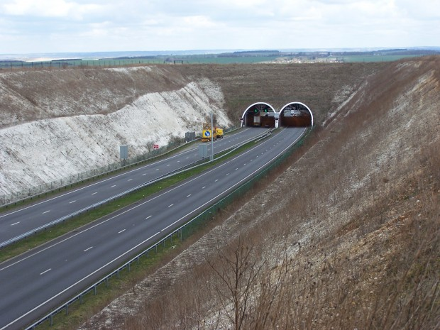 The Weston Hills tunnel in 2013