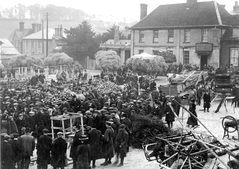 Royston Market in 1916 or 1919