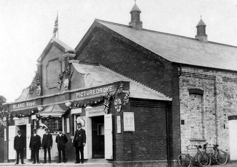 The Picturedrome, Ickleford Road, Hitchin, 1911