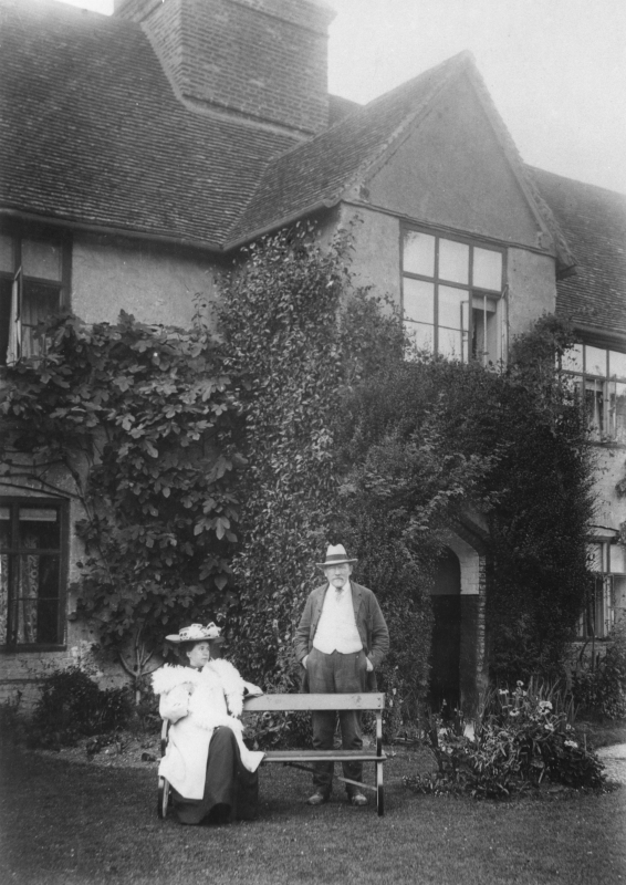 Manor House, Rectory Farm, Pirton, about 1927