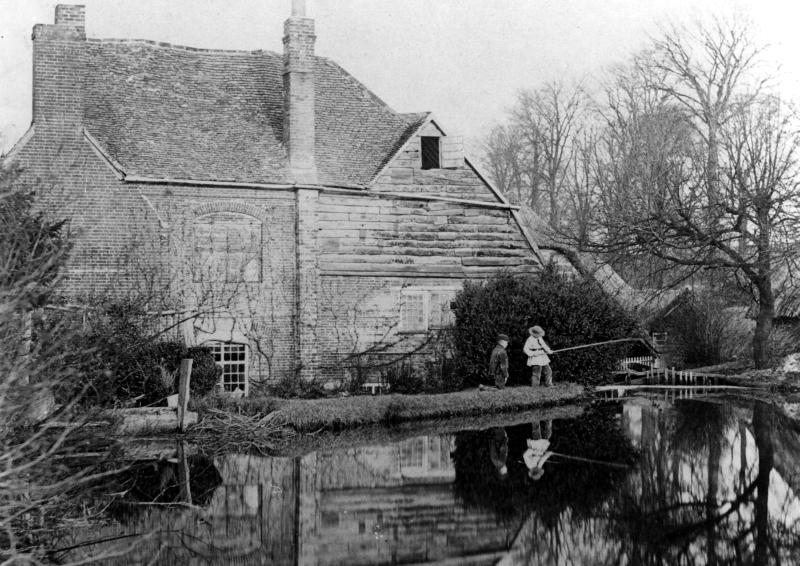 Charlton Mill, perhaps in the 1870s
