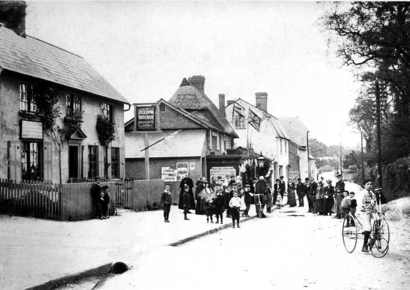 Barley High Street on Pretoria Day, 5 June 1900