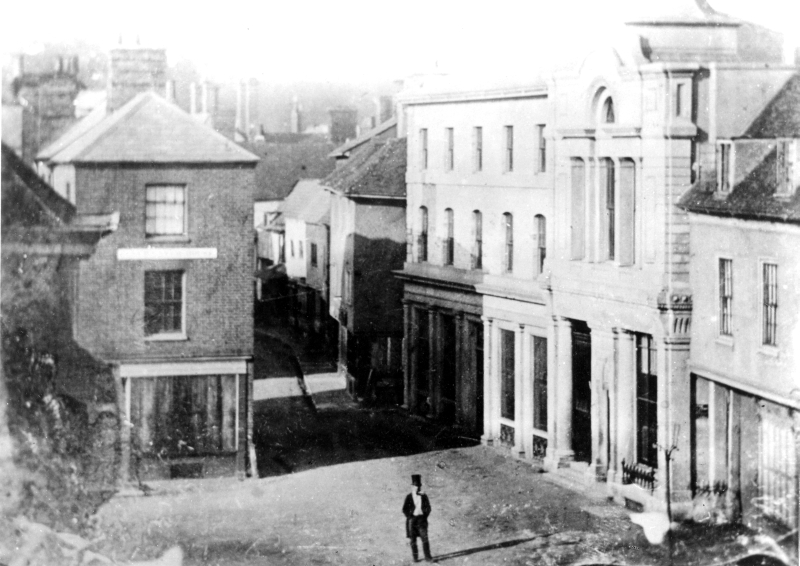 The Shambles, Hitchin, 1854