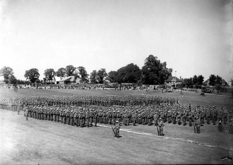 Butts Close, Hitchin, 18 May 1943