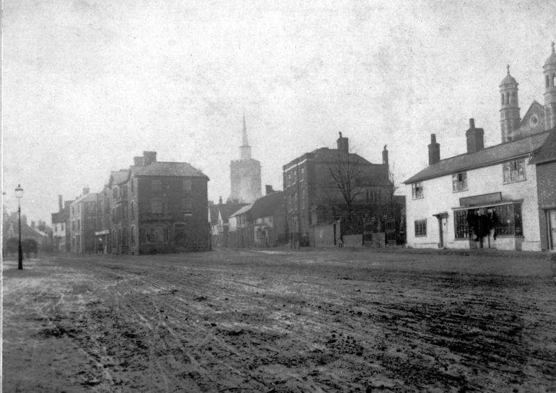 Whitehorse Street, Baldock, 1880s