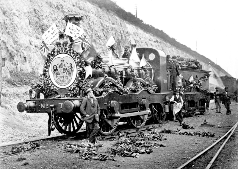 GNR Locomotive No 70, 1887 or 1897