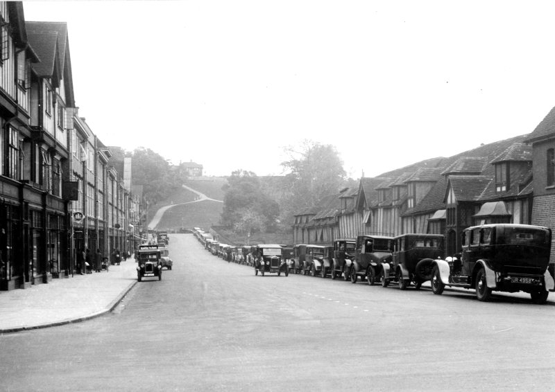Hermitage Road, Hitchin, 1930