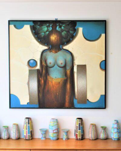 """""""Venus on Venus"""" by Mil Antonis 1928-2005"""