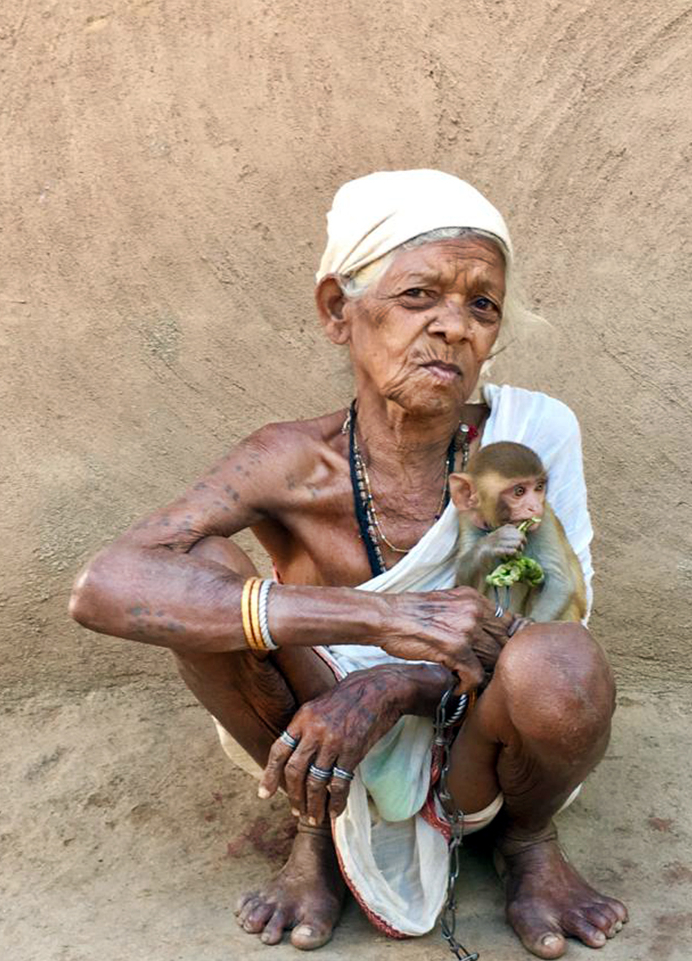 Old Woman from Bastar, Chattisgarh