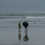 A walk on Newgale Sands