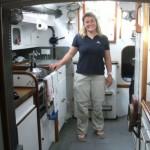 Crew onboard Gypsy Moth IV