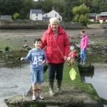 On the crabbing bridge