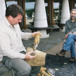 Pembrokeshire Coast National Park workshop at St David's to make flint tools