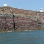 Sea cliffs at St Anne's Head