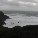 West Dale Bay in a winter storm 1
