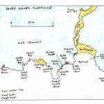 Map of Sandy Haven coastline