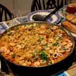 The paella