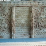 Greek texts in St David's cathedral
