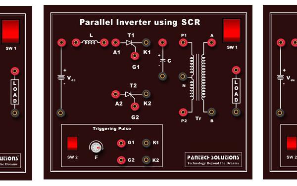 Power Electronics: 3 Phase Inverters Trainer Model ETR 032E/3